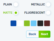 color matte-how to customize-infinitude fight